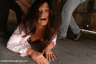 Photo number 2 from Cece Stone's Take Down Challenge shot for Hardcore Gangbang on Kink.com. Featuring Cece Stone, Mr. Pete, John Strong, Mark Davis, Marco Banderas and Alex Gonz in hardcore BDSM & Fetish porn.