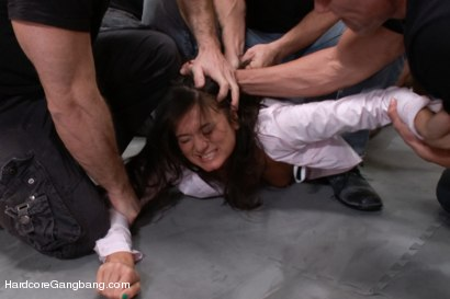Photo number 4 from Cece Stone's Take Down Challenge shot for Hardcore Gangbang on Kink.com. Featuring Cece Stone, Mr. Pete, John Strong, Mark Davis, Marco Banderas and Alex Gonz in hardcore BDSM & Fetish porn.
