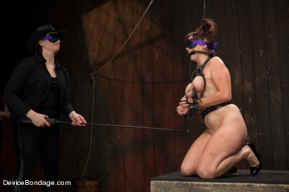Photo number 6 from Marco Polo - Bella Rossi - Complete Edited Live Show shot for Device Bondage on Kink.com. Featuring Bella Rossi, Selena Kyle and Mz Berlin in hardcore BDSM & Fetish porn.