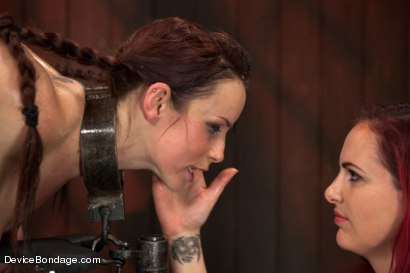 Photo number 18 from Marco Polo - Bella Rossi - Complete Edited Live Show shot for Device Bondage on Kink.com. Featuring Bella Rossi, Selena Kyle and Mz Berlin in hardcore BDSM & Fetish porn.