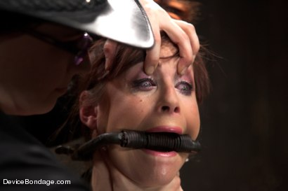 Photo number 2 from Marco Polo - Bella Rossi - Complete Edited Live Show shot for Device Bondage on Kink.com. Featuring Bella Rossi, Selena Kyle and Mz Berlin in hardcore BDSM & Fetish porn.