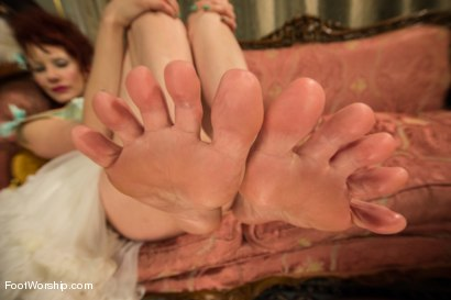 Photo number 7 from Let Them Eat Feet! shot for Foot Worship on Kink.com. Featuring Penny Pax and Maitresse Madeline Marlowe in hardcore BDSM & Fetish porn.