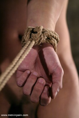 Photo number 4 from Men In Pain Bondage Tutorial   Part 2: shot for Men In Pain on Kink.com. Featuring Scott Lee in hardcore BDSM & Fetish porn.