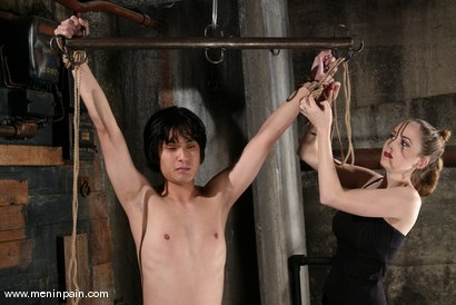 Photo number 5 from Men In Pain Bondage Tutorial   Part 2: shot for Men In Pain on Kink.com. Featuring Scott Lee in hardcore BDSM & Fetish porn.