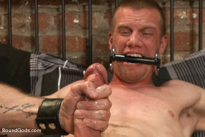 Photo number 12 from Bondage House Call shot for Bound Gods on Kink.com. Featuring Morgan Black and Blake Daniels in hardcore BDSM & Fetish porn.