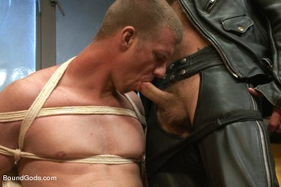 Photo number 4 from Bondage House Call shot for Bound Gods on Kink.com. Featuring Morgan Black and Blake Daniels in hardcore BDSM & Fetish porn.