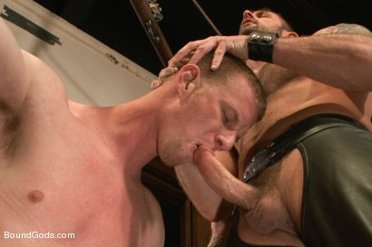 Photo number 7 from Bondage House Call shot for Bound Gods on Kink.com. Featuring Morgan Black and Blake Daniels in hardcore BDSM & Fetish porn.