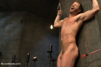 Photo number 8 from 50/50 shot for Bound Gods on Kink.com. Featuring Jeremy Stevens and Christopher Daniels in hardcore BDSM & Fetish porn.