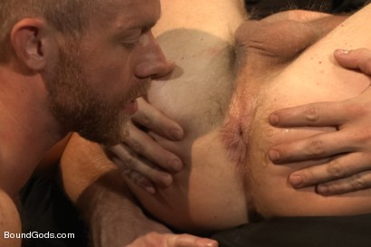 Photo number 14 from 50/50 shot for Bound Gods on Kink.com. Featuring Jeremy Stevens and Christopher Daniels in hardcore BDSM & Fetish porn.