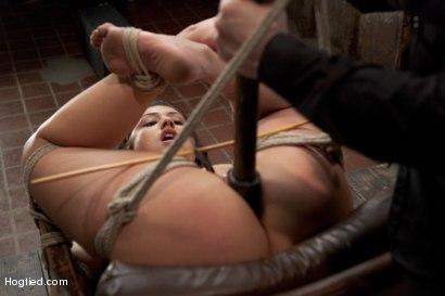 Photo number 10 from Scarlet Banks Cums to HogTied shot for Hogtied on Kink.com. Featuring Scarlet Banks in hardcore BDSM & Fetish porn.