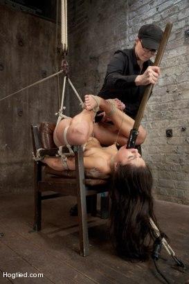 Photo number 15 from Scarlet Banks Cums to HogTied shot for Hogtied on Kink.com. Featuring Scarlet Banks in hardcore BDSM & Fetish porn.