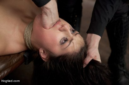 Photo number 12 from Scarlet Banks Cums to HogTied shot for Hogtied on Kink.com. Featuring Scarlet Banks in hardcore BDSM & Fetish porn.