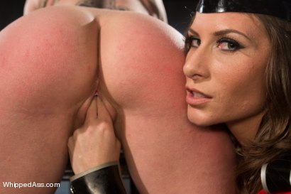 Photo number 3 from Ariel X, Newest director of UltimateSurrender.com shows Darling who's the toughest of them all! shot for Whipped Ass on Kink.com. Featuring Dee Williams and Ariel X in hardcore BDSM & Fetish porn.