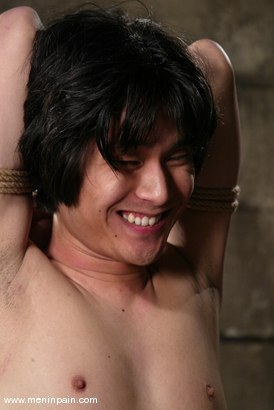 Photo number 15 from Men In Pain Bondage Tutorial<br>Part 4: ARM & TOE TIE shot for Men In Pain on Kink.com. Featuring Scott Lee in hardcore BDSM & Fetish porn.