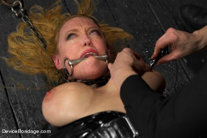 Photo number 15 from Cockateel Returns shot for Device Bondage on Kink.com. Featuring Dee Williams in hardcore BDSM & Fetish porn.