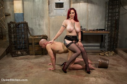 Photo number 7 from Welcome Mz Berlin to Divine Bitches! shot for Divine Bitches on Kink.com. Featuring Mz Berlin and Chad Rock in hardcore BDSM & Fetish porn.