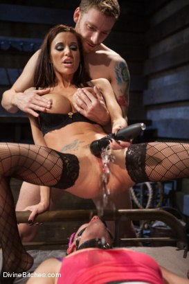 Photo number 11 from Feminized Cuckold Reality shot for Divine Bitches on Kink.com. Featuring Gia DiMarco, Sebastian Keys and Ryan Honey in hardcore BDSM & Fetish porn.