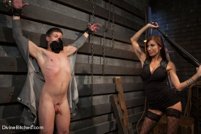 Photo number 2 from Feminized Cuckold Reality shot for Divine Bitches on Kink.com. Featuring Gia DiMarco, Sebastian Keys and Ryan Honey in hardcore BDSM & Fetish porn.