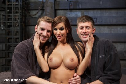 Photo number 9 from Feminized Cuckold Reality shot for Divine Bitches on Kink.com. Featuring Gia DiMarco, Sebastian Keys and Ryan Honey in hardcore BDSM & Fetish porn.