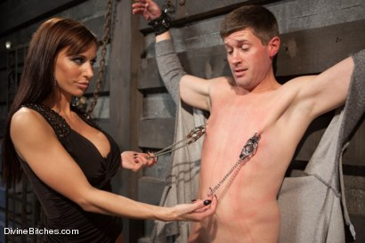 Photo number 14 from Feminized Cuckold Reality shot for Divine Bitches on Kink.com. Featuring Gia DiMarco, Sebastian Keys and Ryan Honey in hardcore BDSM & Fetish porn.