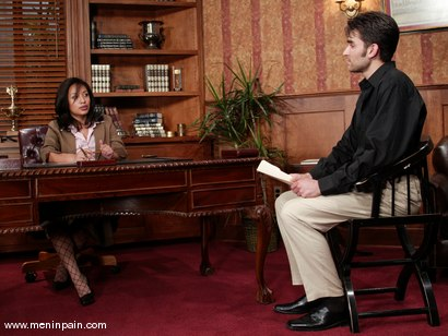 Photo number 1 from Jasmine Byrne and Nathaniel Meadowlark shot for Men In Pain on Kink.com. Featuring Jasmine Byrne and Nathaniel Meadowlark in hardcore BDSM & Fetish porn.