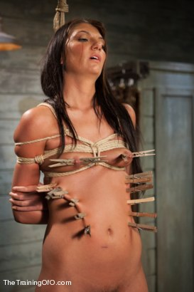 Photo number 9 from The Training of Cassandra Nix, Day One shot for The Training Of O on Kink.com. Featuring Cassandra Nix in hardcore BDSM & Fetish porn.
