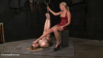 Photo number 11 from Pink Skin shot for Chantas Bitches on Kink.com. Featuring Audrey Leigh and Addison Heart in hardcore BDSM & Fetish porn.