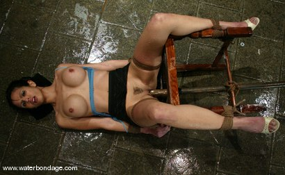 Photo number 3 from shy love shot for Water Bondage on Kink.com. Featuring shy love in hardcore BDSM & Fetish porn.