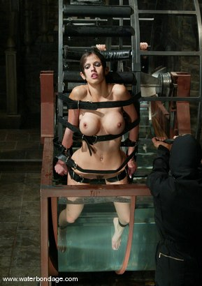 Photo number 14 from shy love shot for Water Bondage on Kink.com. Featuring shy love in hardcore BDSM & Fetish porn.