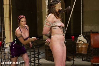 Photo number 4 from Missy Minks: Tough Lesbian Slut shot for Whipped Ass on Kink.com. Featuring Mz Berlin and Missy Minks in hardcore BDSM & Fetish porn.