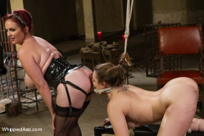 Photo number 8 from Missy Minks: Tough Lesbian Slut shot for Whipped Ass on Kink.com. Featuring Mz Berlin and Missy Minks in hardcore BDSM & Fetish porn.