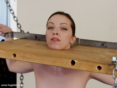 Photo number 1 from Molly Matthews shot for Hogtied on Kink.com. Featuring Molly Matthews in hardcore BDSM & Fetish porn.