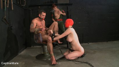 Photo number 15 from Earning Sex shot for Captive Male on Kink.com. Featuring Cherry Torn, Daac Ramsey and Julie Simone in hardcore BDSM & Fetish porn.