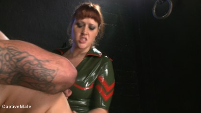 Photo number 7 from Earning Sex shot for Captive Male on Kink.com. Featuring Cherry Torn, Daac Ramsey and Julie Simone in hardcore BDSM & Fetish porn.