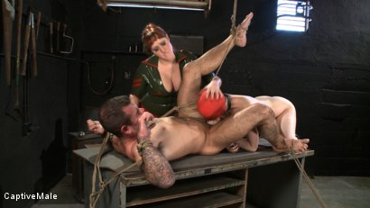 Photo number 10 from Earning Sex shot for Captive Male on Kink.com. Featuring Cherry Torn, Daac Ramsey and Julie Simone in hardcore BDSM & Fetish porn.