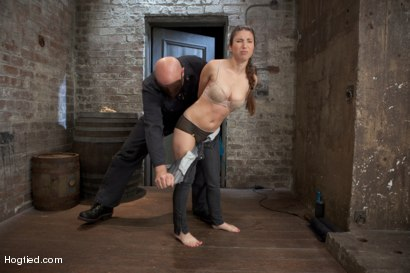 Photo number 1 from Sgt Major Returns Dominating Serena Blair shot for Hogtied on Kink.com. Featuring Sgt. Major and Serena Blair in hardcore BDSM & Fetish porn.