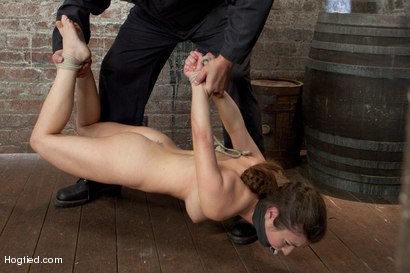 Photo number 16 from Sgt Major Returns Dominating Serena Blair shot for Hogtied on Kink.com. Featuring Sgt. Major and Serena Blair in hardcore BDSM & Fetish porn.