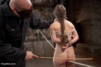 Photo number 6 from Sgt Major Returns Dominating Serena Blair shot for Hogtied on Kink.com. Featuring Sgt. Major and Serena Blair in hardcore BDSM & Fetish porn.