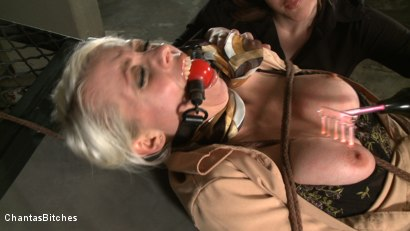 Photo number 12 from Slutty Secretary  shot for Chantas Bitches on Kink.com. Featuring Lorelei Lee and Julie Simone in hardcore BDSM & Fetish porn.