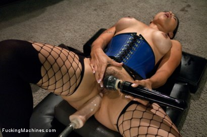 Photo number 15 from Her Ass is Swallowing UP some serious Machine Cock shot for Fucking Machines on Kink.com. Featuring Dana Vespoli in hardcore BDSM & Fetish porn.