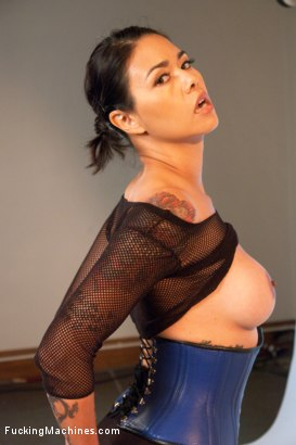 Photo number 2 from Her Ass is Swallowing UP some serious Machine Cock shot for Fucking Machines on Kink.com. Featuring Dana Vespoli in hardcore BDSM & Fetish porn.
