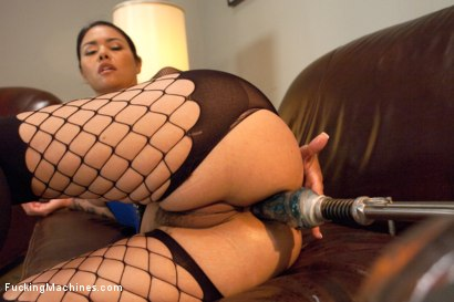 Photo number 3 from Her Ass is Swallowing UP some serious Machine Cock shot for Fucking Machines on Kink.com. Featuring Dana Vespoli in hardcore BDSM & Fetish porn.