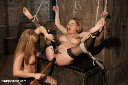 Photo number 13 from Snobby Bitch shot for Whipped Ass on Kink.com. Featuring Lea Lexis and Krissy Lynn in hardcore BDSM & Fetish porn.