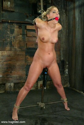 Photo number 7 from Hollie Stevens shot for Hogtied on Kink.com. Featuring Hollie Stevens in hardcore BDSM & Fetish porn.