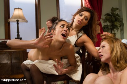 Photo number 15 from Bad Luck Lesbians! A lesbian cuckold stepmother/daughter drama shot for Whipped Ass on Kink.com. Featuring Brooklyn Lee, Francesca Le  and Lyla Storm in hardcore BDSM & Fetish porn.