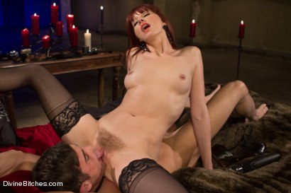 Photo number 7 from The Last Prostate Ever Milked On Earth shot for Divine Bitches on Kink.com. Featuring Lance Hart and Maitresse Madeline Marlowe in hardcore BDSM & Fetish porn.