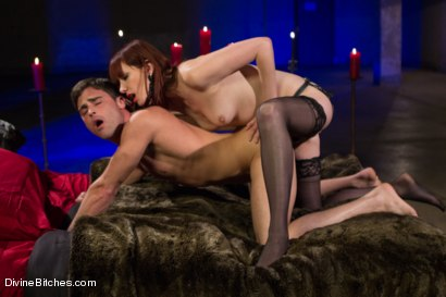 Photo number 8 from The Last Prostate Ever Milked On Earth shot for Divine Bitches on Kink.com. Featuring Lance Hart and Maitresse Madeline Marlowe in hardcore BDSM & Fetish porn.