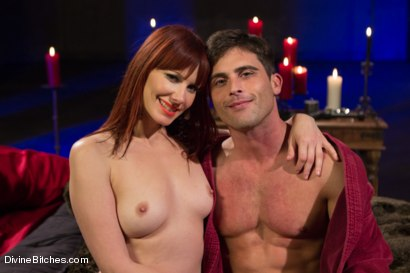 Photo number 10 from The Last Prostate Ever Milked On Earth shot for Divine Bitches on Kink.com. Featuring Lance Hart and Maitresse Madeline Marlowe in hardcore BDSM & Fetish porn.