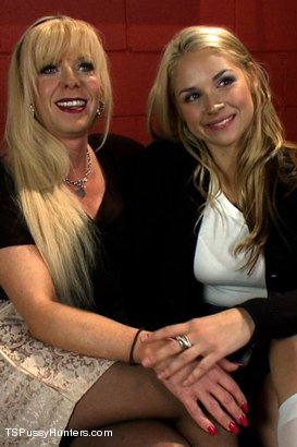 Photo number 15 from Glory Holes, Head Mistress Cock and Foreign Exchange Girls shot for TS Pussy Hunters on Kink.com. Featuring Joanna Jet and Sarah Vandella in hardcore BDSM & Fetish porn.