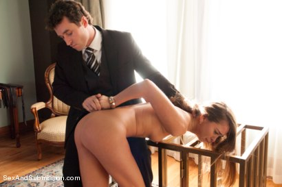 Photo number 5 from The Piano Instructor: Riley Reid Submits shot for Sex And Submission on Kink.com. Featuring Riley Reid and James Deen in hardcore BDSM & Fetish porn.